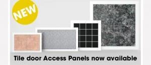 Tile access panels
