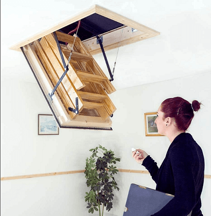 Remote Control Loft Hatch