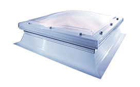 Smoke Vent Roof Dome with 365mm kerb