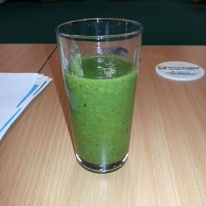 Great tasting Kiwi smoothie