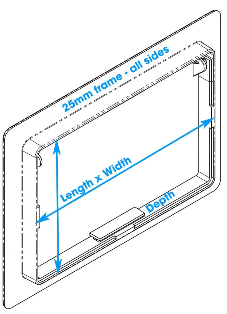 How to measure your access panel