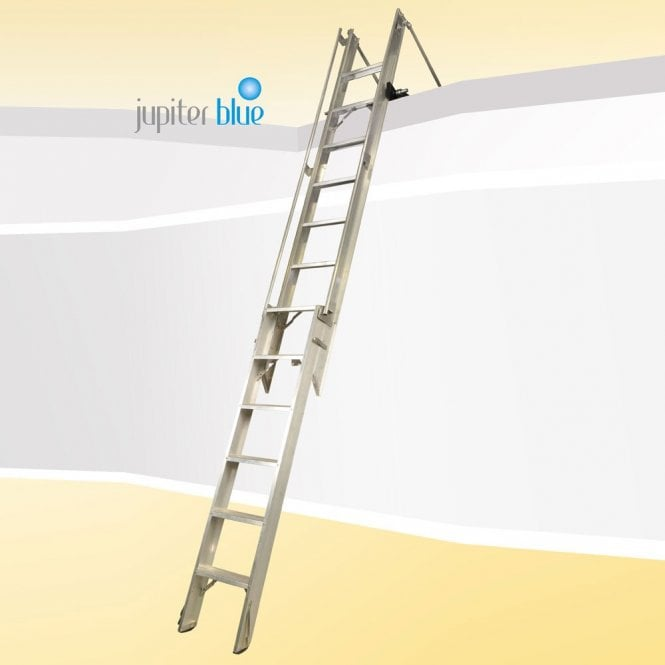 AL4C Commercial Loft Ladder | Up to 5m Floor to Floor Max | 150KG | Made to Measure 7 to 11 working days