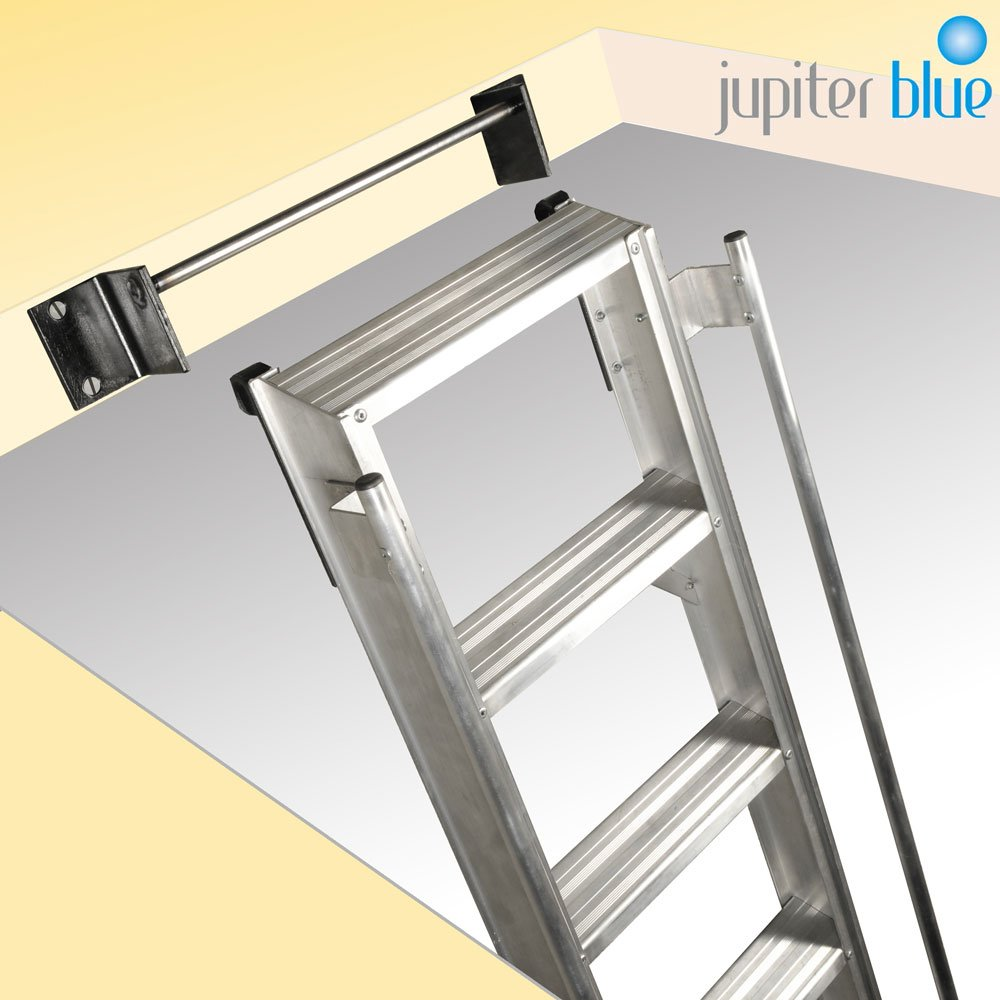 heavy duty hook on loft ladder for commercial use. Black Bedroom Furniture Sets. Home Design Ideas