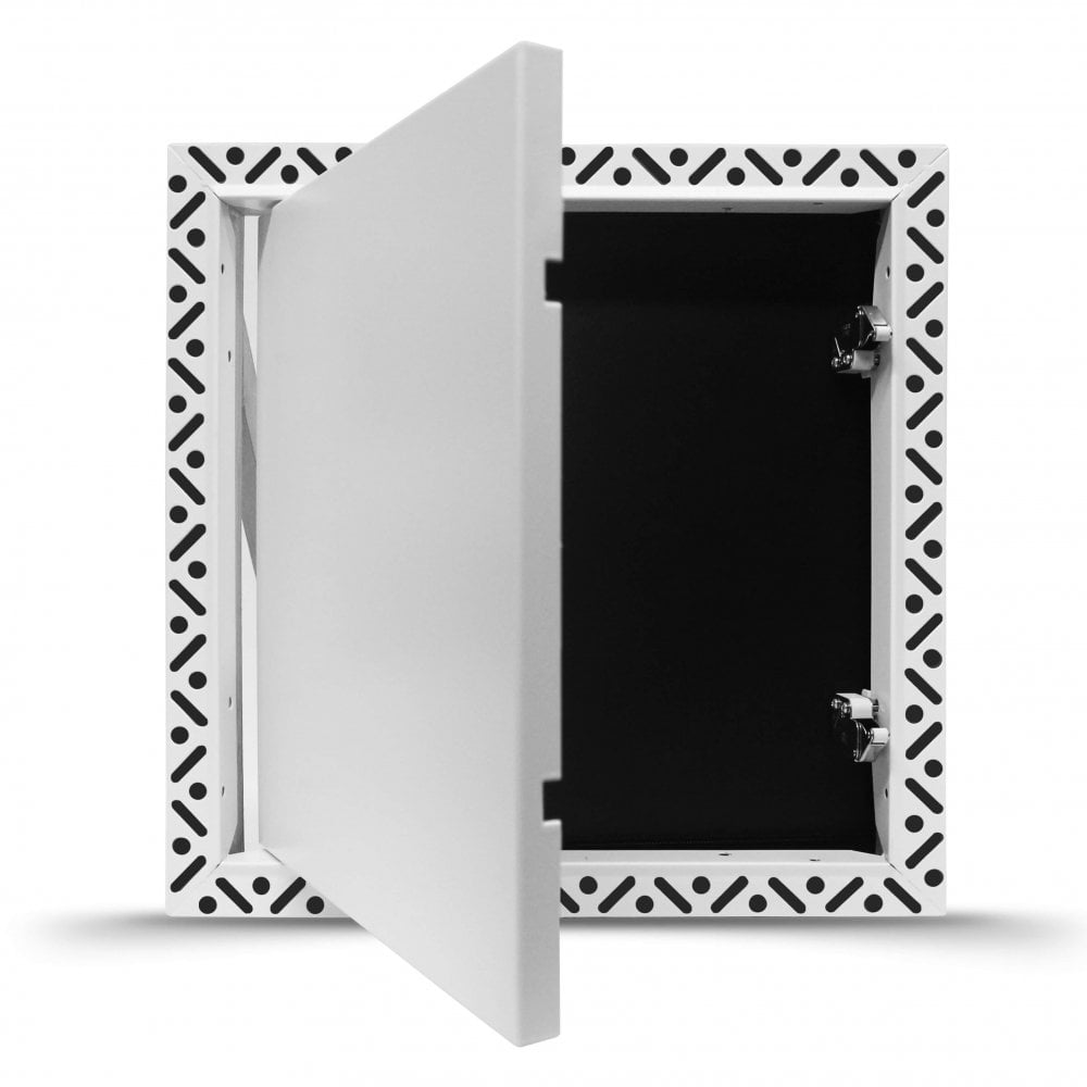 Beaded Frame Access Panel | Touch Latch lock