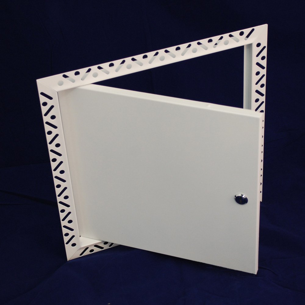 Steel Access Doors And Frames : Ebfs economy beaded frame access panels with chrome