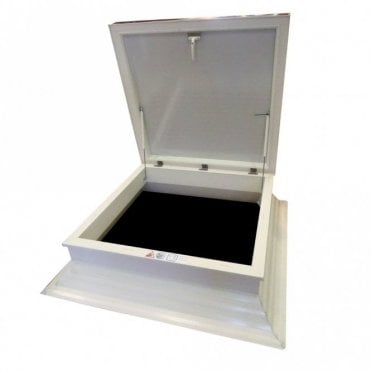 Economy Roof Hatch - Maintenance Free, ready decorated