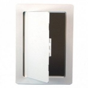 Plastic Access Panel: 150x230 or 200x200 Colour: Cool White