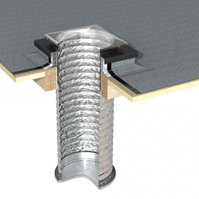 JB 550mm Tubular Skylight for a Flat Roof