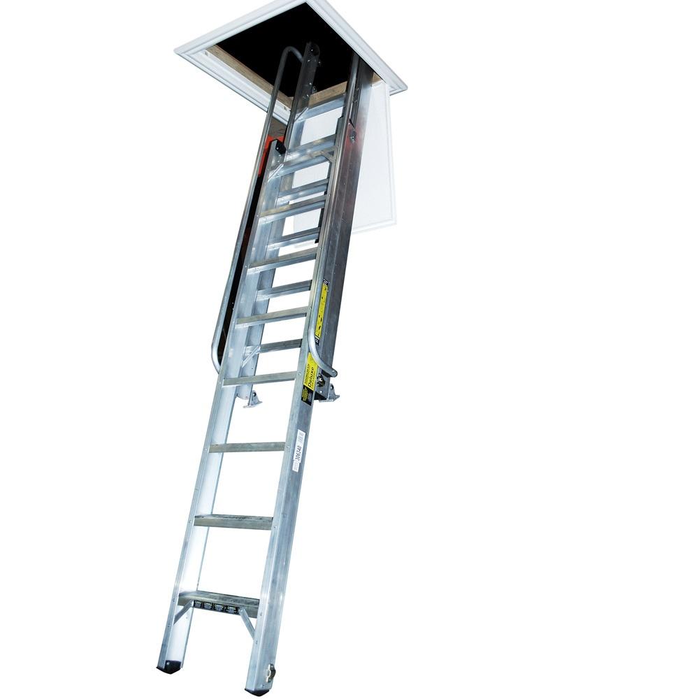 deluxe loft ladder. Black Bedroom Furniture Sets. Home Design Ideas