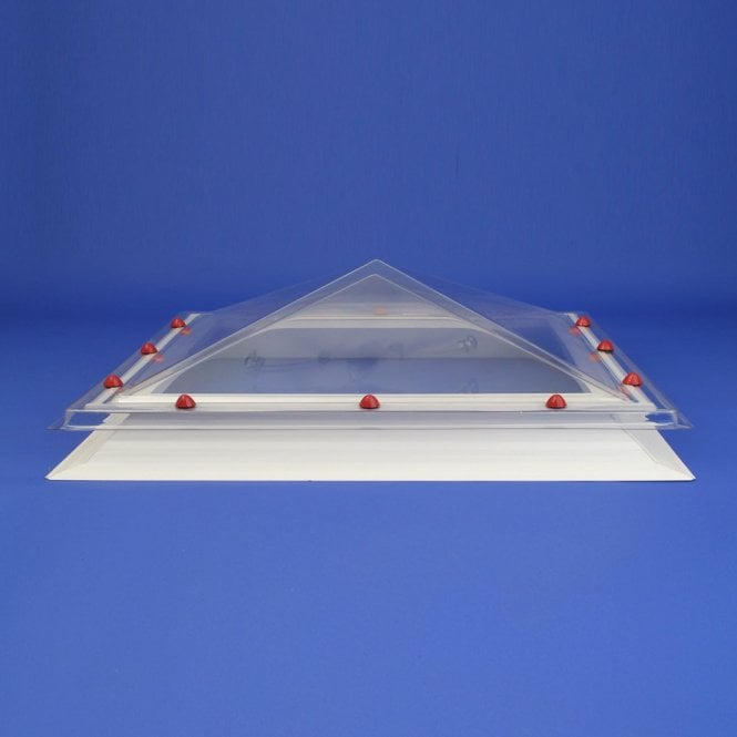 JB Rectangular Fixed Roof Lights Pyramid Dome