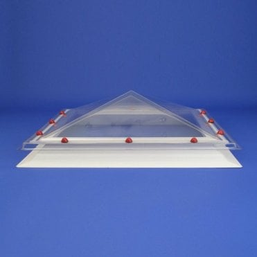 Rectangular Fixed Roof Lights Pyramid Dome