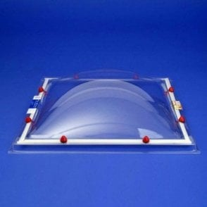 Rooflight Dome only - 36 Sizes Single, Double or Triple Glazed