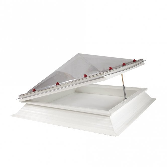 JB Square Opening Roof Light with Pyramid Dome