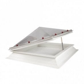 Square Opening Roof Light with Pyramid Dome