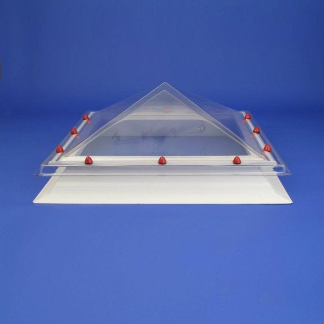 JB Square Rooflight with Pyramid Dome