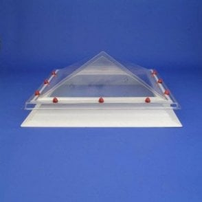 Square Rooflight with Pyramid Dome