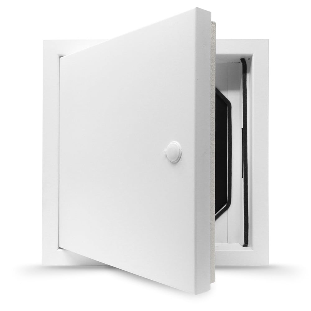 White Metal Access Panel Fire Rated Picture Frame