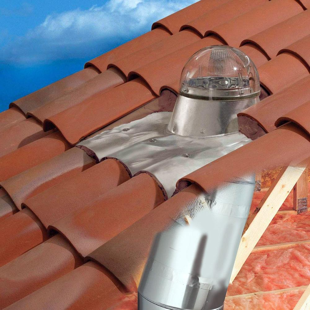 Tile Roof Tubular Skylight Kit