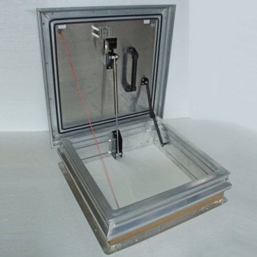 "New Premier 0.43 ""U"" Value Aluminium Roof Hatch"