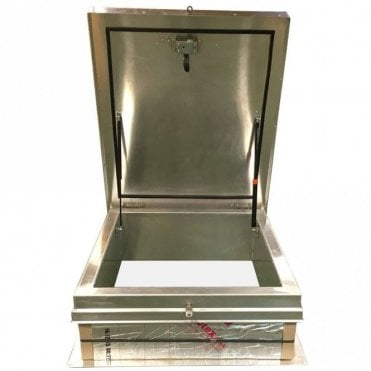 Premium Aluminium Roof Hatch - Industry leading insulation value 0.43 U Value